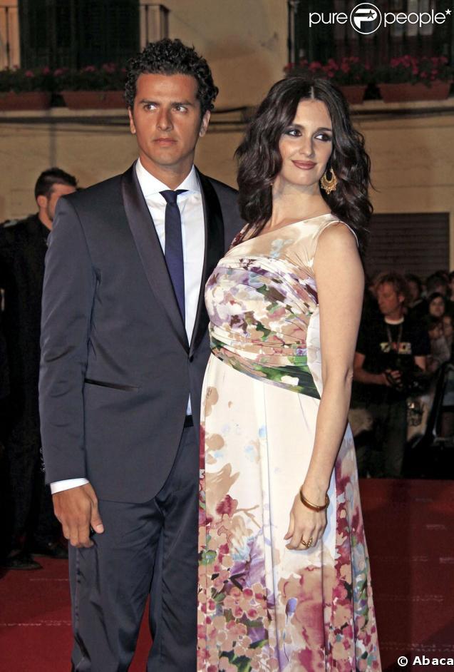 Paz Vega et son époux Orson Salazar sur le tapis rouge du Festival de Malaga dimanche soir