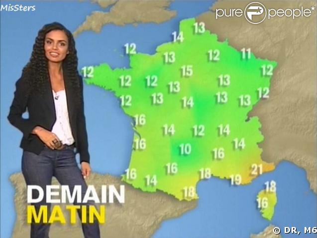 M6 laurence roustandjee la nouvelle miss m t o qui nous apporte le soleil de la r union - Nouvelle presentatrice meteo tf1 ...