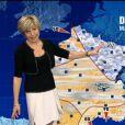 TF1  : Evelyne Dhéliat refuse les diktats de Miss Météo. Son titre à elle, c'est Dame Météo !