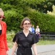 Sophie Turner, Maisie Williams - Les célébrités arrivent au mariage de Kit Harington et Rose Leslie en l'église Rayne a Aberdeen en Ecosse, le 23 juin 2018.