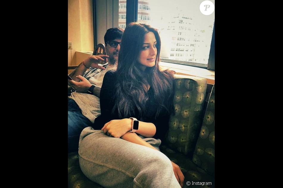 Sonali Bendre. Photo Instagram publiée en juillet 2018.