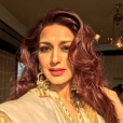 Sonali Bendre. Photo Instagram publiée en mars 2018.