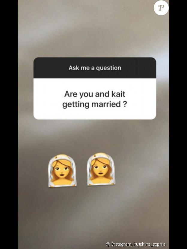 Sophia Hutchins confirme qu'elle est en couple avec Caitlyn Jenner sur Instagram, ce mercredi 11 juillet 2018.