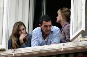 Antonio Banderas : un papa en or pour Stella Del Carmen et... l'amour toujours avec sa Mélanie !