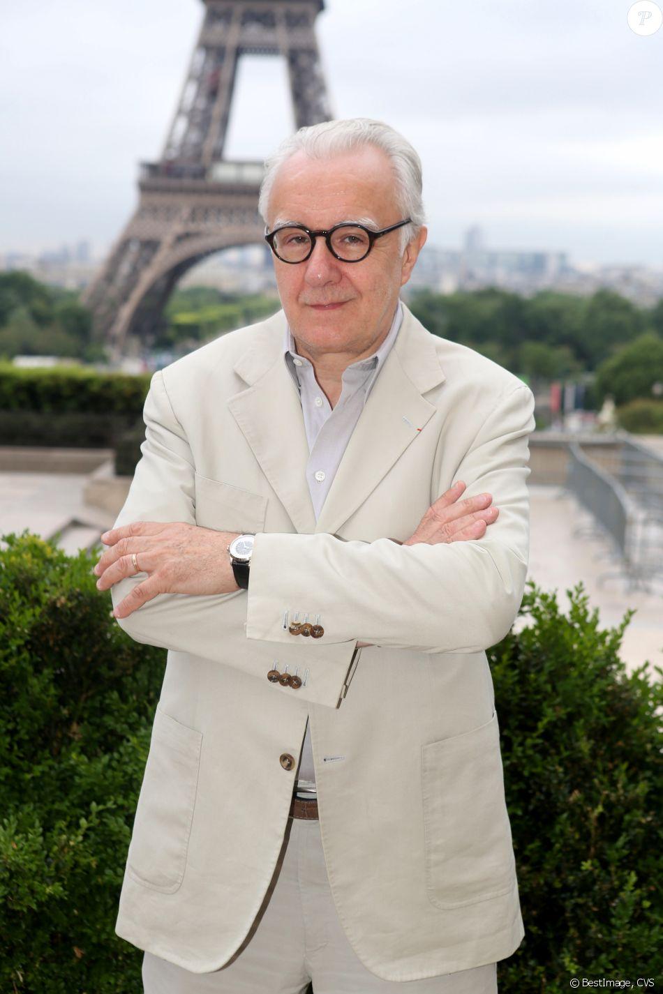 Semi-Exclusif - Alain Ducasse - Conférence de presse du Longines Paris Eiffel Jumping au Café de l'Homme à Paris. Le 30 mai 2017 © CVS / Bestimage