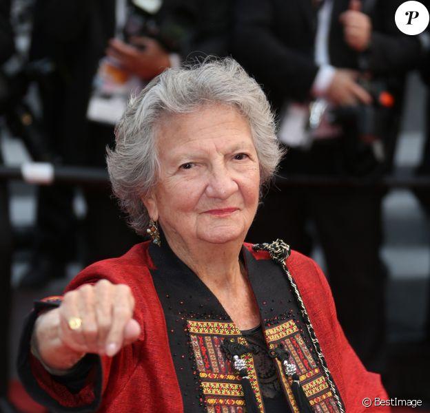 """Marthe Villalonga à la montée des marches du film """"Nelyubov (Faute d'amour)"""" lors du 70ème Festival International du Film de Cannes, le 18 mai 2017. © Denis Guignebourg/Bestimage"""