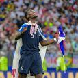 Paul Pogba - Finale de la Coupe du Monde de Football 2018 en Russie à Moscou, opposant la France à la Croatie (4-2) le 15 juillet 2018 © Moreau-Perusseau / Bestimage