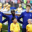 Lucas Hernández, N'Golo Kanté et Benjamin Pavard - Finale de la Coupe du Monde de Football 2018 en Russie à Moscou, opposant la France à la Croatie (4-2). Le 15 juillet 2018 © Moreau-Perusseau / Bestimage
