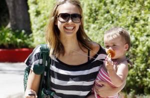 Jessica Alba a trouvé son rayon de soleil... sa fille adorable !