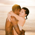 Kylie Jenner et Travis Scott en vacances aux Îles Turques-et-Caïques. Mai 2018.