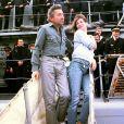 Serge Gainsbourg et Jane Birkin. Novembre 1984.