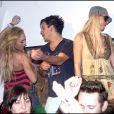 Exclu - Lindsay Lohan et Paris font la fête à Coachella, en Californie, en 2007