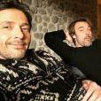 """Sebastien Roch sur le tournage des """"Mystères de l'amour"""" - Instagram, 1er décembre 2017"""