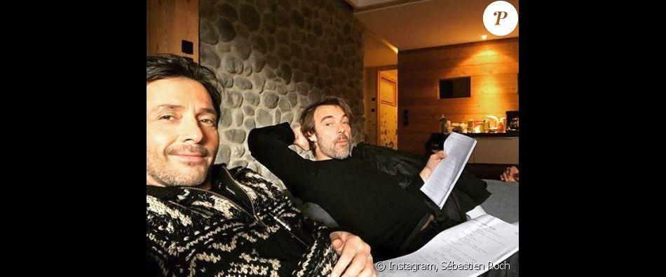 sebastien roch sur le tournage des myst res de l 39 amour instagram 1er d cembre 2017 purepeople. Black Bedroom Furniture Sets. Home Design Ideas
