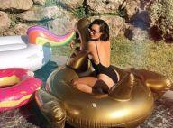 Émilie Nef Naf, sensuelle en maillot, montre ses jolies fesses rebondies