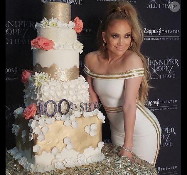 Jennifer Lopez. Juin 2018.
