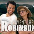 """Le deuxième numéro de """"L'aventure Robinson"""" (TF1) présentée par Denis Brogniart, avec Amir et Christine Bravo."""