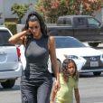Exclusif - Les soeurs Kardashian sont allées faire du bowling à Woodland Hills, le 17 juillet 2018.