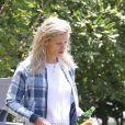 Exclusif - Lindsay Shookus a été aperçue en train de quitter la maison de Ben Affleck à Los Angeles, le 7 juillet 2018.