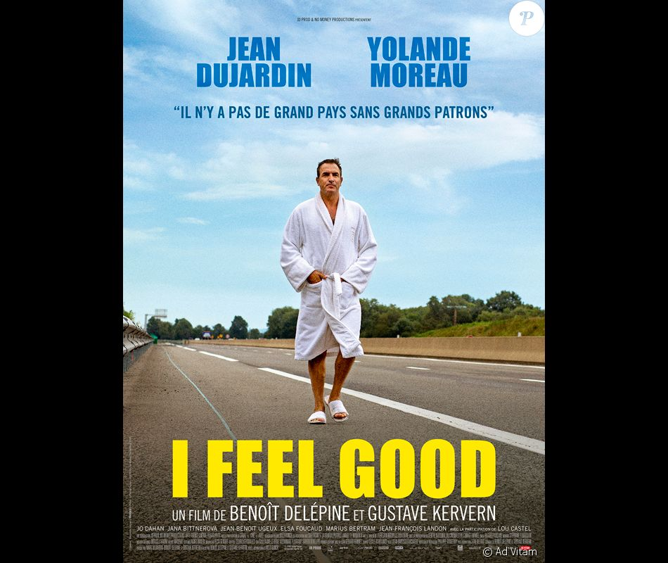 Affiche du film i feel good purepeople for Yolande dujardin
