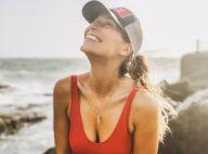 Laury Thilleman : Dénudée et sensuelle pour un break au coucher du soleil