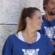 """Laure Manaudou et Florent Manaudou dans """"Fort Boyard"""" - France 2, 28 juillet 2018"""