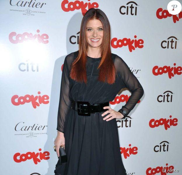 Debra Messing à la soirée du magazine Cookie le 20 avril 2009 à New York.