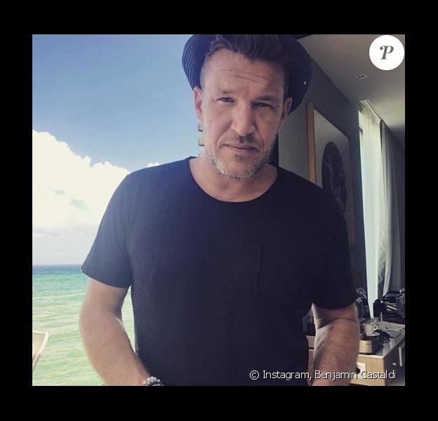 Benjamin Castaldi en vacances en Sicile - Instagram, 27 juillet 2018