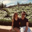 Julien Castaldi et sa chérie Chiara - Instagram, 25 juillet 2018