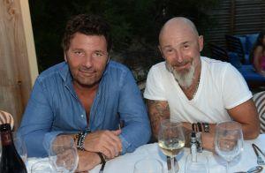 Philippe Lellouche : 1re sortie de jeune papa à Saint-Tropez avec Vincent Lagaf'