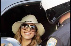Jessica Alba : prise en flagrant délit par la police, elle fait un numéro de charme... en vain !