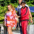JAY-Z et Beyoncé en bateau sur le Lac de Côme en Italie. Le 7 juillet 2018.