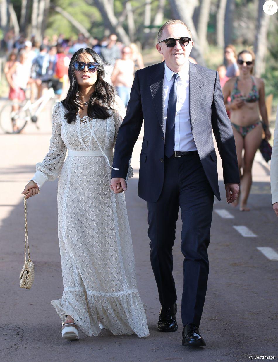 Exclusif - Salma Hayek avec son mari François-Henri Pinault au