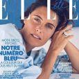 Alessandra Sublet en couverture du nouveau numéro de ELLE - 3 août 2018