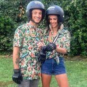 Alexandra Rosenfeld et Hugo Clément complices et accordés pour une virée en moto