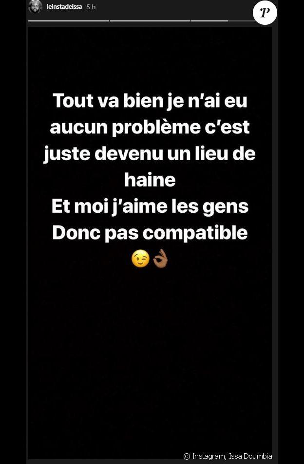 Le comédien et humoriste Issa Doumbia révèle qu'il quitte Twitter - Instagram, 17 août 2018