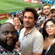 Issa Doumbia lors de la Coupe du monde de football 2018 - Instagram, 15 juillet 2018