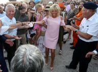 Brigitte Macron dévoile un joli bronzage en chic robe lors d'une danse endiablée