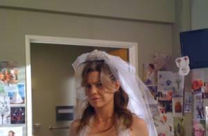 Grey's Anatomy : Découvrez Meredith en robe de mariée et Izzie balance tout... sur son mariage avec Dereck !