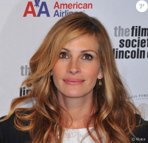Julia Roberts, pour la soirée hommage à Tom Hanks, à l'occasion du 36e Film Society of Lincoln Center's Gala, qui s'est tenu au Alice Tully Hall de New York, le 27 avril 2009 !