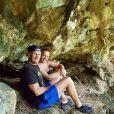Pascal et sa femme Christina en vacances en Thailande. Avril 2017