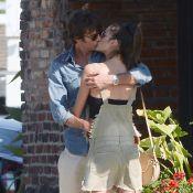 Alessandra Ambrosio en couple : Le top model et son chéri s'embrassent en public