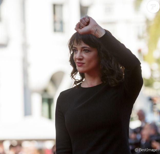 Asia Argento - Montée des marches du film «L'Homme qui tua Don Quichotte» lors de la cérémonie de clôture du 71ème Festival International du Film de Cannes. Le 19 mai 2018 © Borde-Moreau / Bestimage