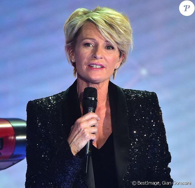 Sophie Davant. 31ème édition du Téléthon 2017 (AFMTéléthon) au Pavillon Baltard à Nogent-Sur-Marne, France, le 9 décembre 2017. © Gian Gorassini / Bestimage
