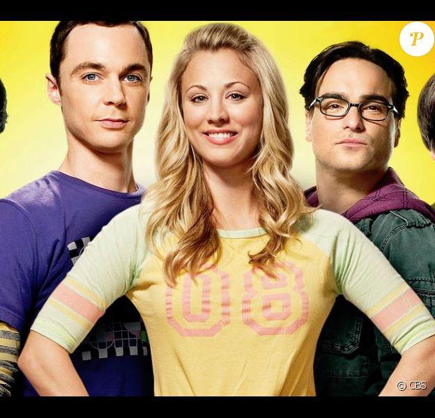 """Photo promotionelle de la série """"The Big Bang Theory"""" - CBS"""