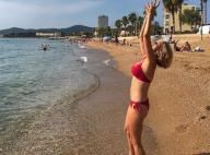 Sylvie Tellier en bikini un mois après son accouchement : Une bombe !