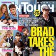 Charlie Sheen et sa petite famille sur la couverture du magazine In Touch Weekly