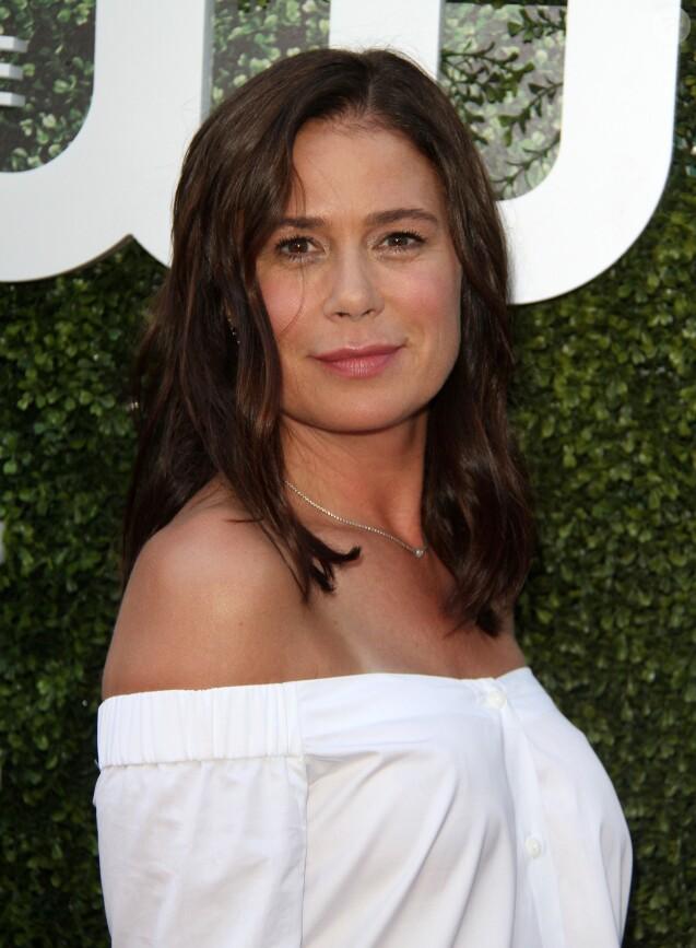 """Maura Tierney à la soirée """"CBS Television Studios Summer"""" au centre Pacific Design à West Hollywood, Californie, Etats-Unis, le 10 août 2016."""