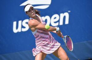 Alizé Cornet sanctionnée à l'US Open pour avoir enlevé son haut