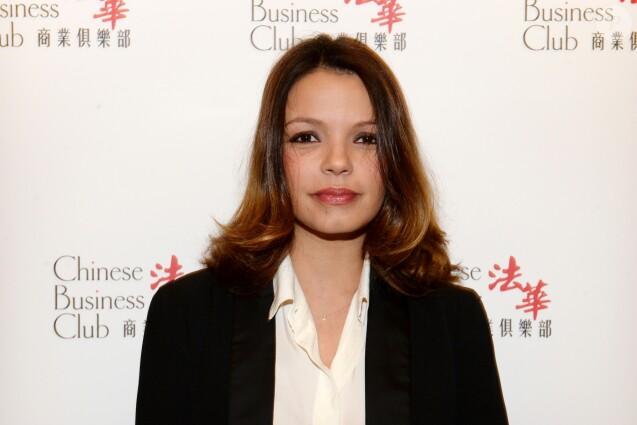 Séverine Ferrer au photocall du déjeuner du Chinese Business Club à l'hôtel Intercontinental pour la journée internationale des femmes à Paris le 8 mars 2016. © Rachid Bellak / Bestimage